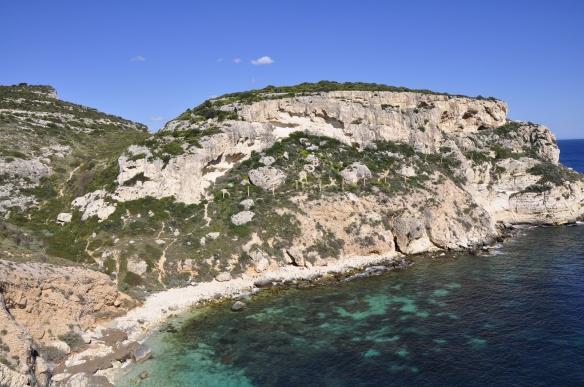 La roca de Giardini Sospesi Sull'Acqua, con más de 20 vías (Foto: André Freire)